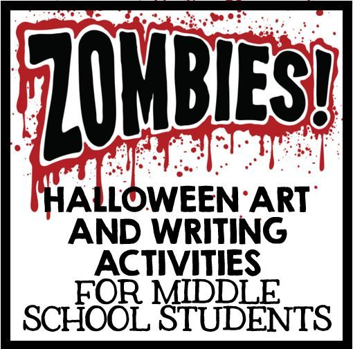 Halloween Writing and Art Activities - Zombies | Writing ...