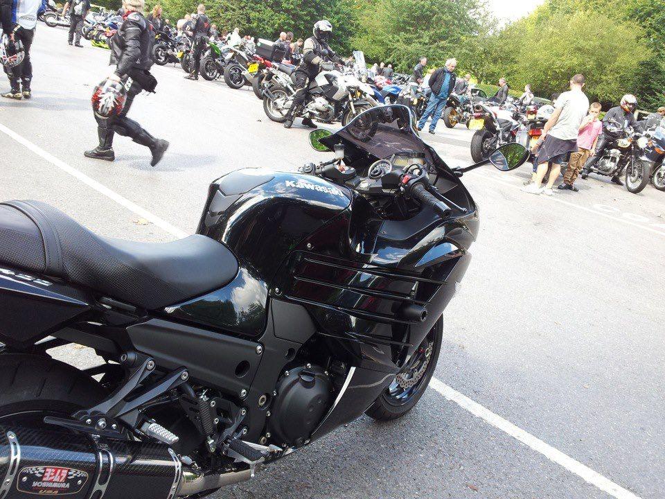 Kawasaki Zzr1400 2012 At Box Hill