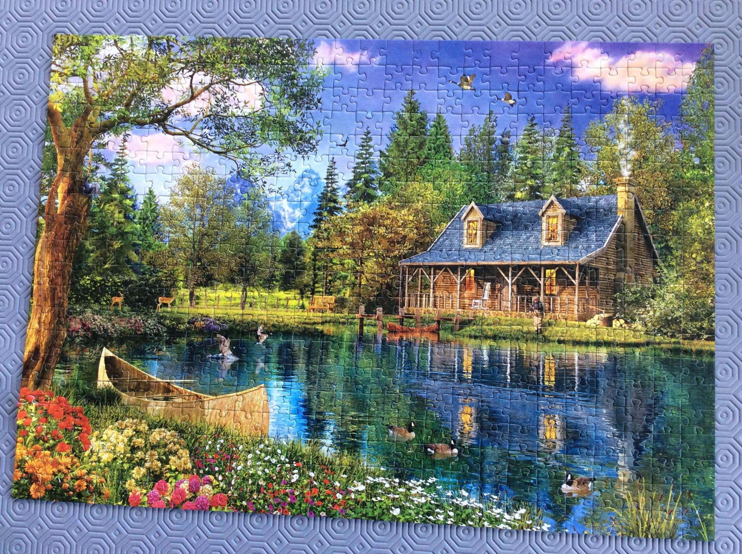 DIY Diamond Painting Scenery Embroidery Cross Craft Stitch Home Wall Decor Art