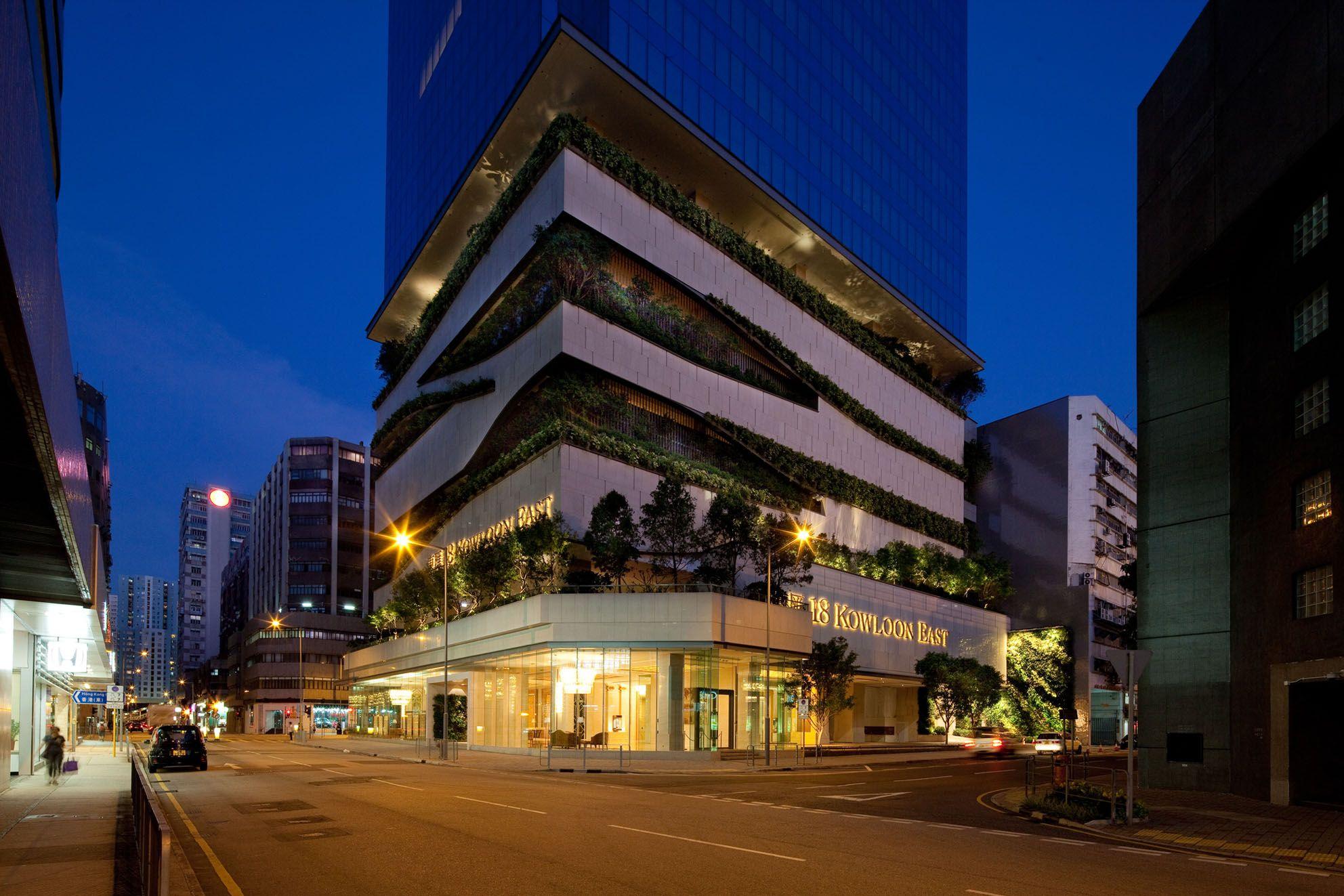 18 Kowloon East Aedas Pavilion Architecture Architecture Sustainable Design