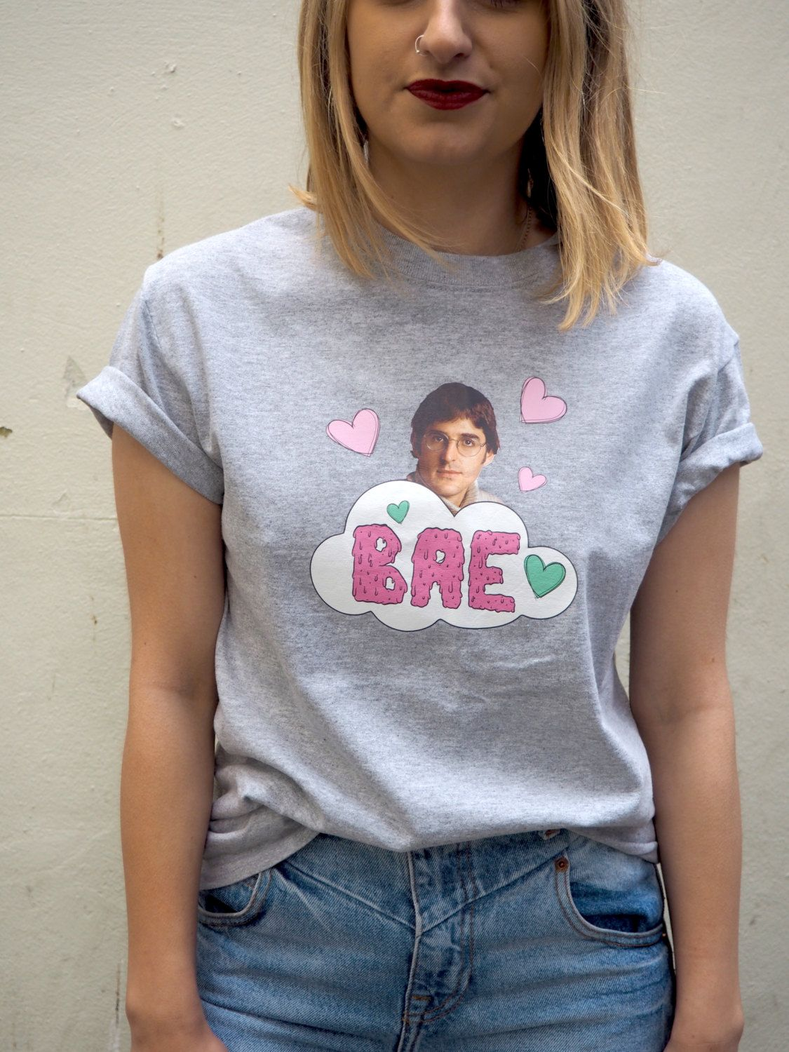 bafbf8a8a572 Louis Theroux BAE tee Girly Stuff, Girly Things, Printed Tees, Plus Size  Fashion