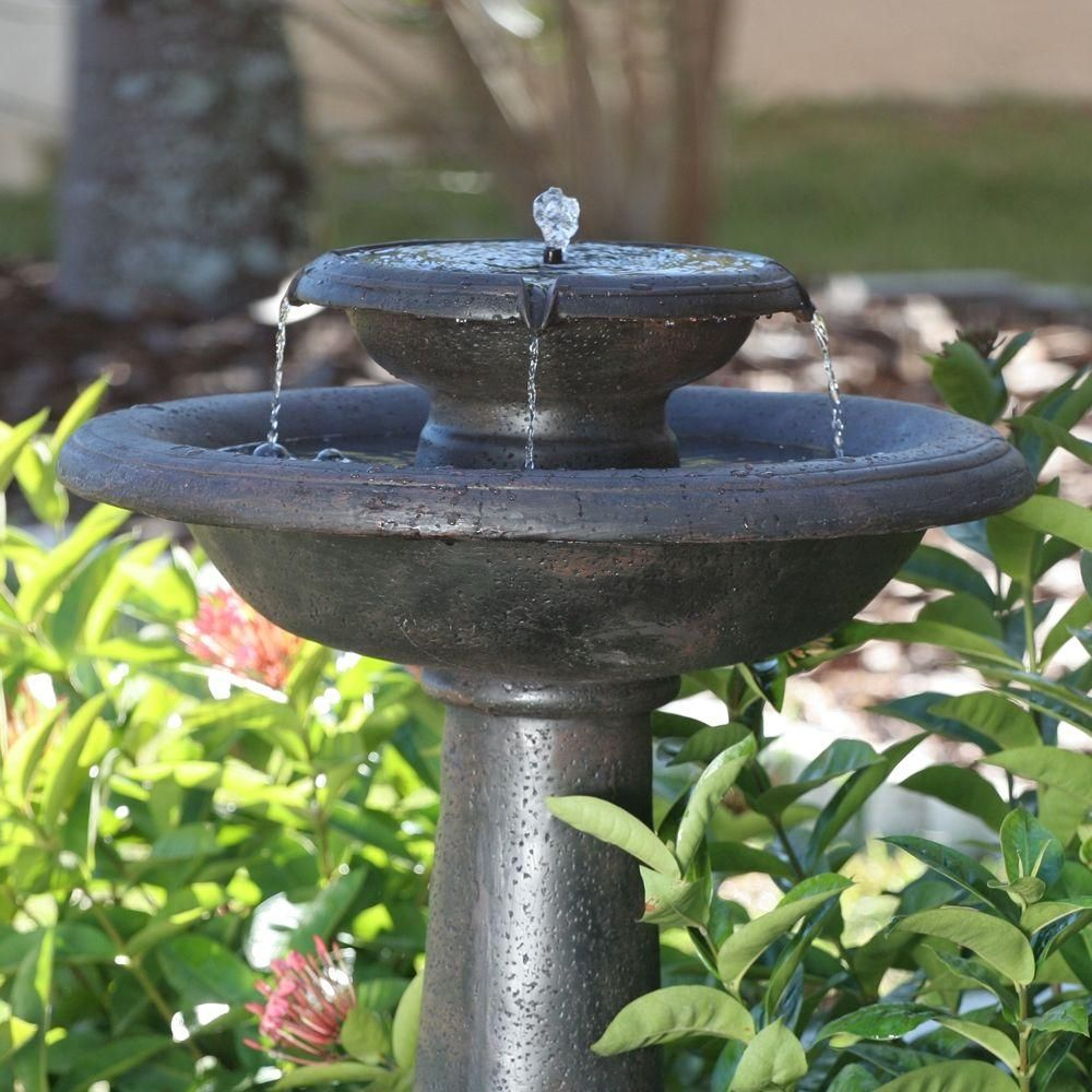 f5a4696e5773f5ac8a8dba85b1b153c7 - Smart Solar Gardens 2 Tier Solar On Demand Fountain