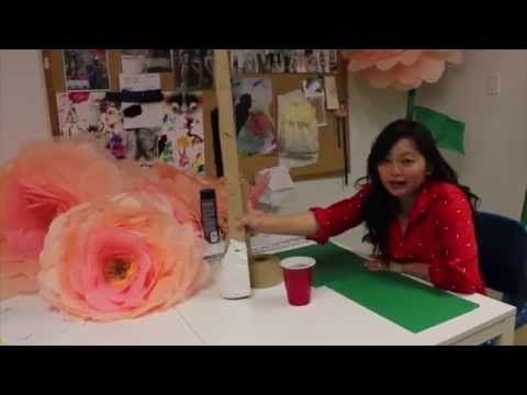 Diy giant free standing tissue paper flowers youtube paper diy giant free standing tissue paper flowers youtube mightylinksfo
