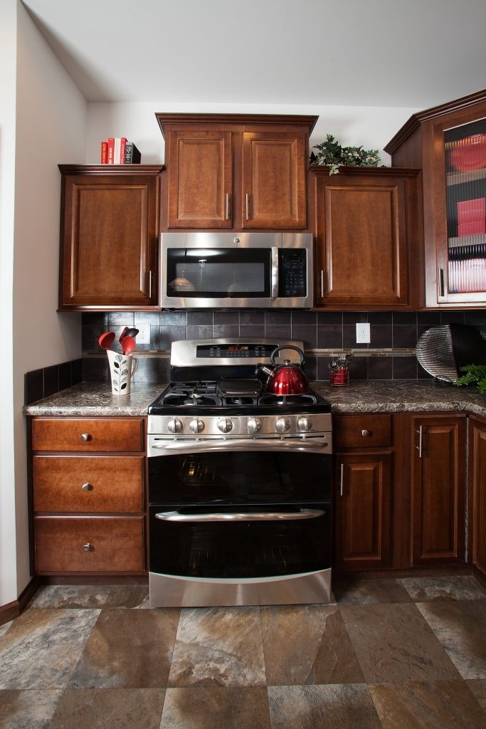 Lionel Aw250a Aurora Classic Ranch Modular Red Appliances Finding A House Stainless Steel Kitchen