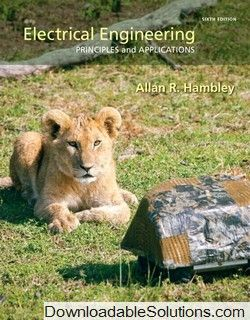Electrical Engineering Principles Applications 6th Edition