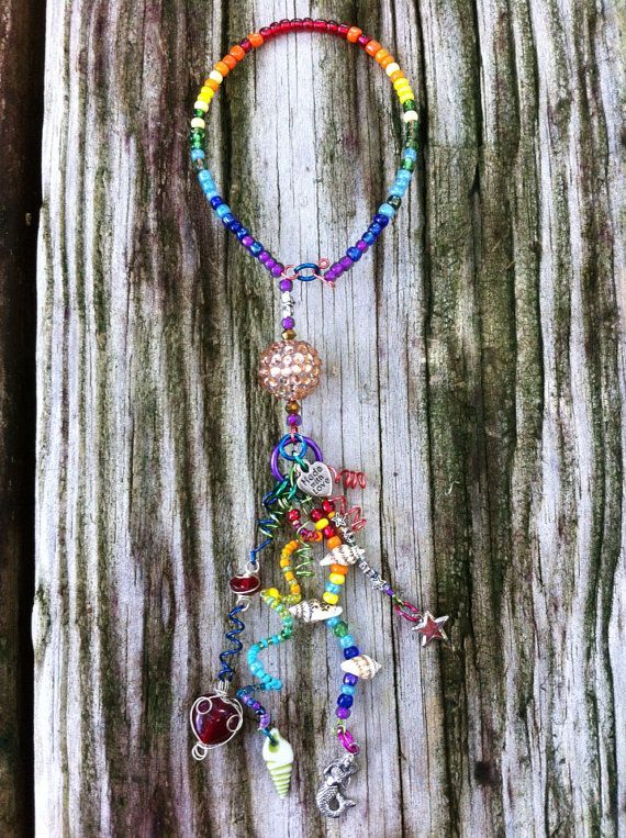 Rainbow Bling  Shimmy on Etsy, $20.00
