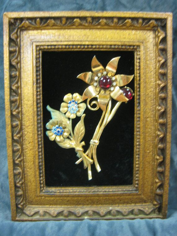 Hey, I found this really awesome Etsy listing at https://www.etsy.com/listing/268431376/framed-vintage-jewelry-art-6x9-multi