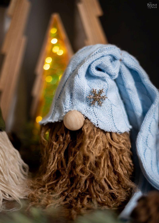 Easy DIY Christmas Gnomes Christmas gnome, Yarn crafts