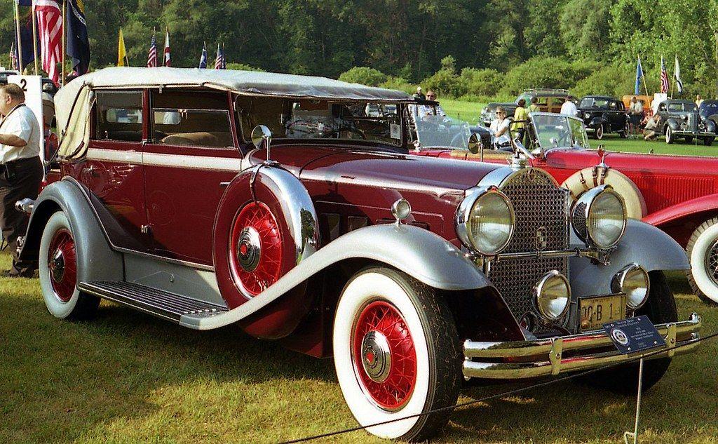 1931 Packard 840 Deluxe Eight convertible sedan