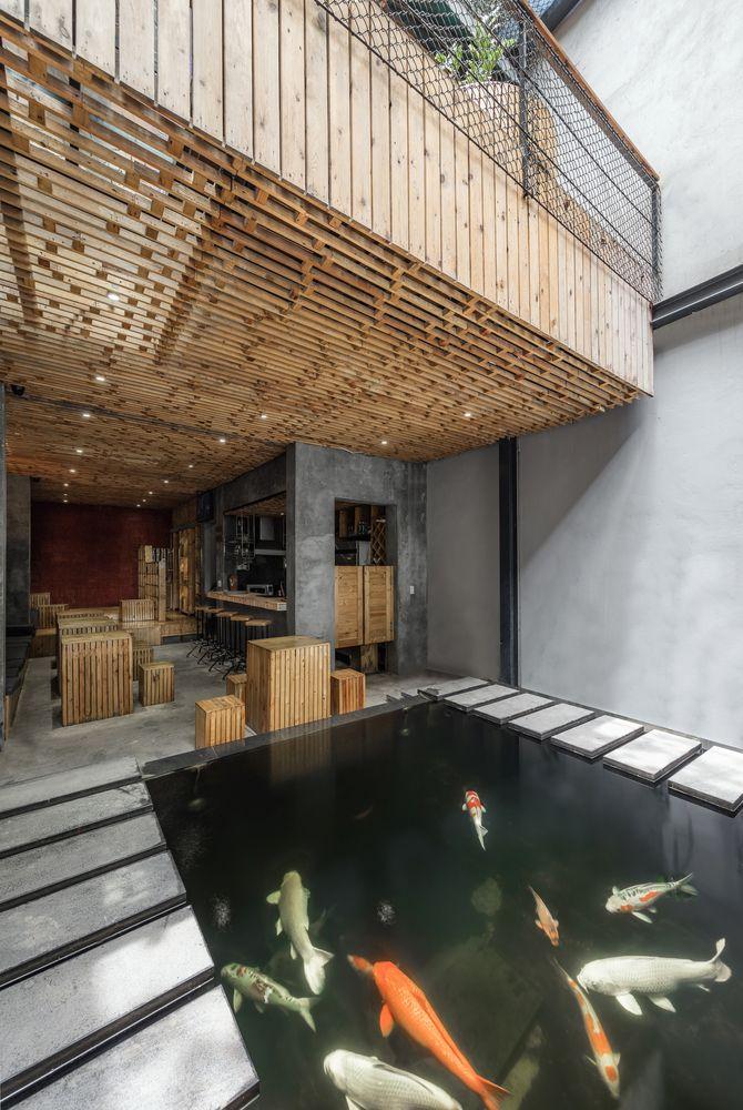 Galería de Café KOI / Farming Architects - 2 | Intérieur et ...