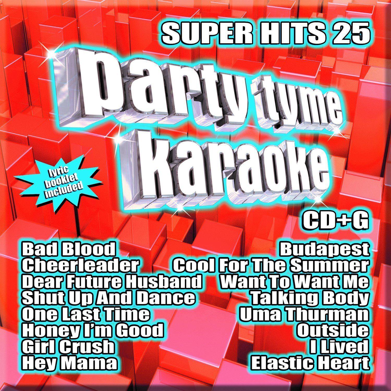 Various - Party Tyme Karaoke: Super Hits 25