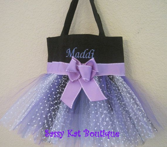 How Cute Is This Adorable For A Girl S Ballet Bag Dance Bag