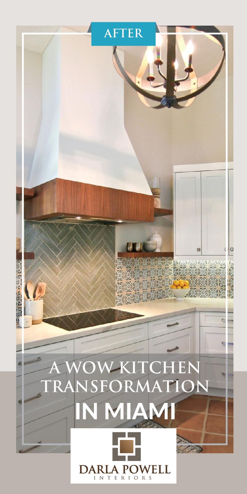 A Wow Kitchen Transformation In Miami Kitchen Remodel Design Kitchen Remodel Kitchen Transformation