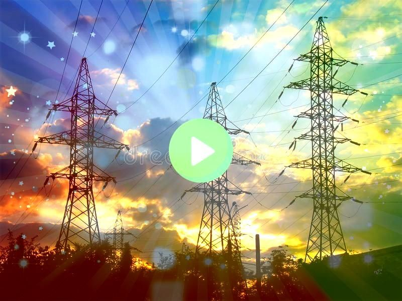Power Transmission Lines at Sunset Electric Power Transmission Lines a Electric Power Transmission Lines at Sunset Electric Power Transmission Lines a  Mira mi perfil en...