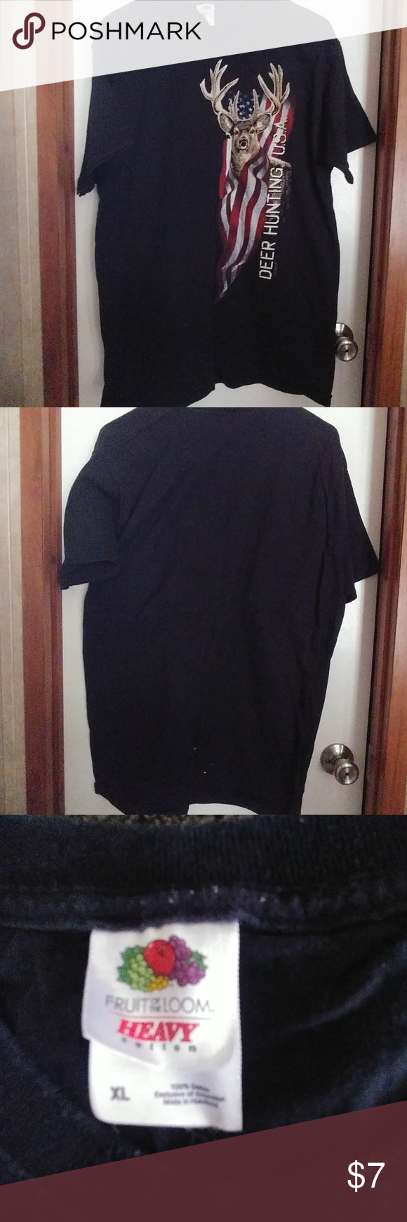 Fruit of the Loom Heavy Cotton size XL TShirt Clothes