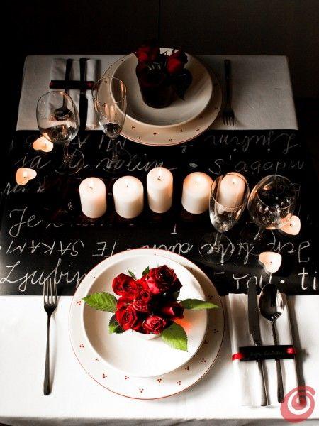 Valentine Evening Cena Per Due Tavolo Romantico Cene Romantiche