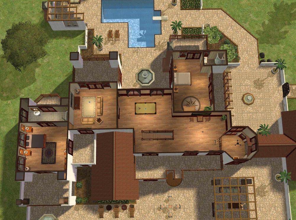 Hacienda Style Layout