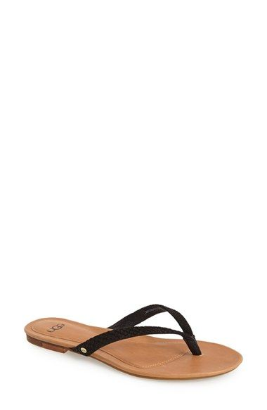 UGG Australia Suede Thong Sandals sale cheap online shipping outlet store online quality free shipping outlet free shipping lowest price jDNpwjlv