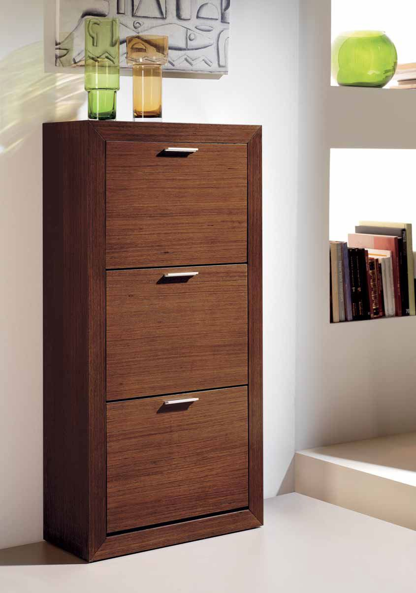 Mueble Zapatero Roble 3 Puertas Abels Http Www
