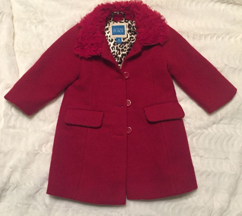 b2999770f Girls The Childrens Place Peacoat Jacket