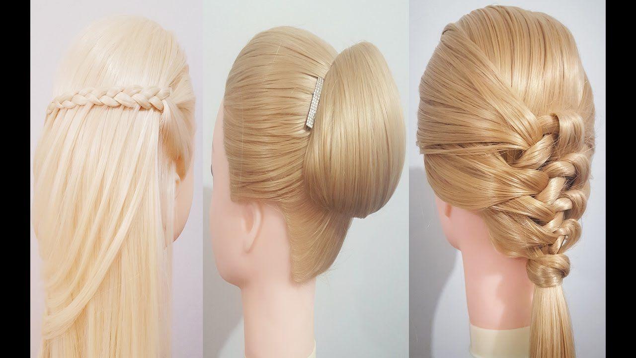 Peinados y recogidos on pinterest fiestas braids and - Ideas para peinados faciles ...
