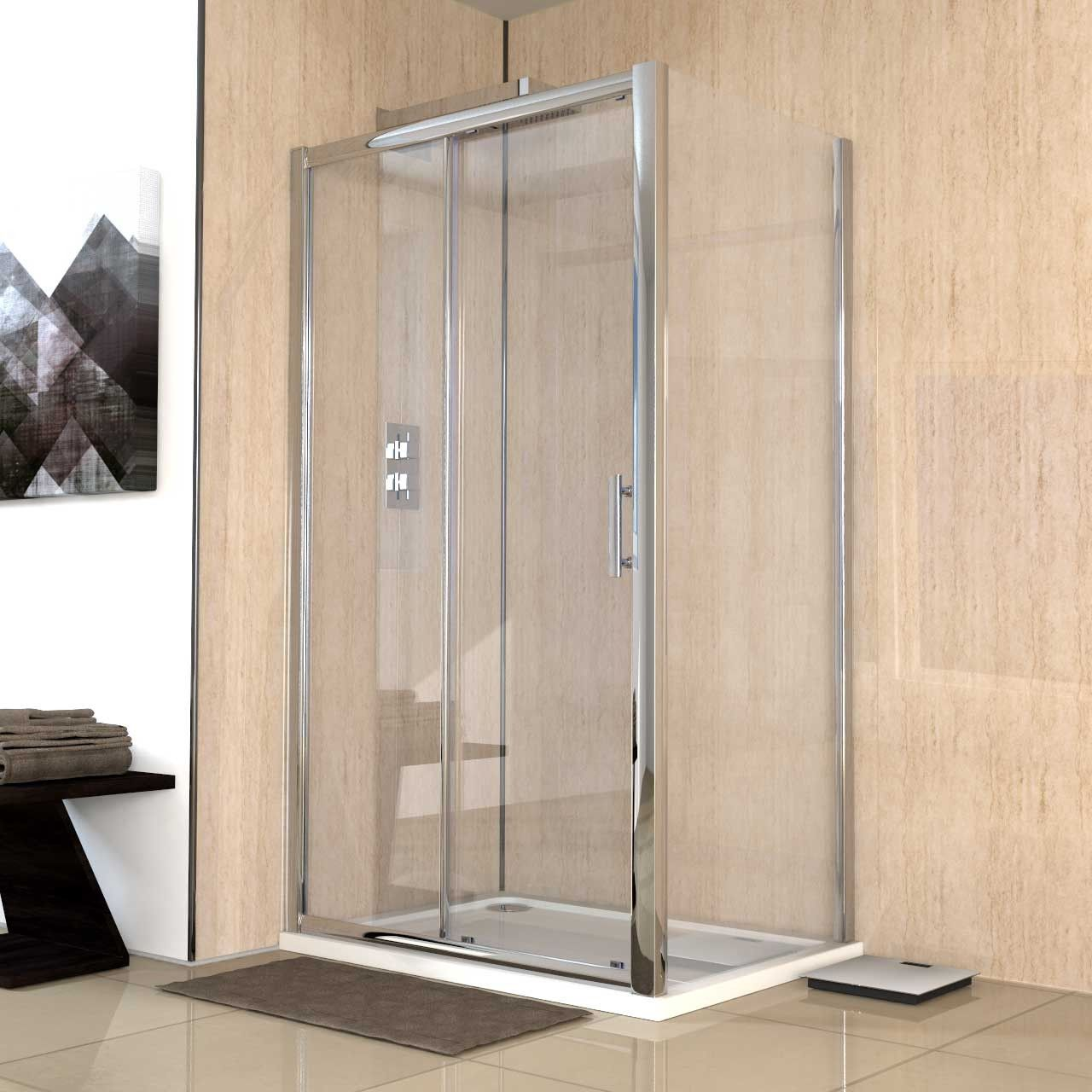 Series 6 1100mm X 800mm Sliding Door Shower Enclosure Sliding Shower Door Shower Remodel Shower Enclosure