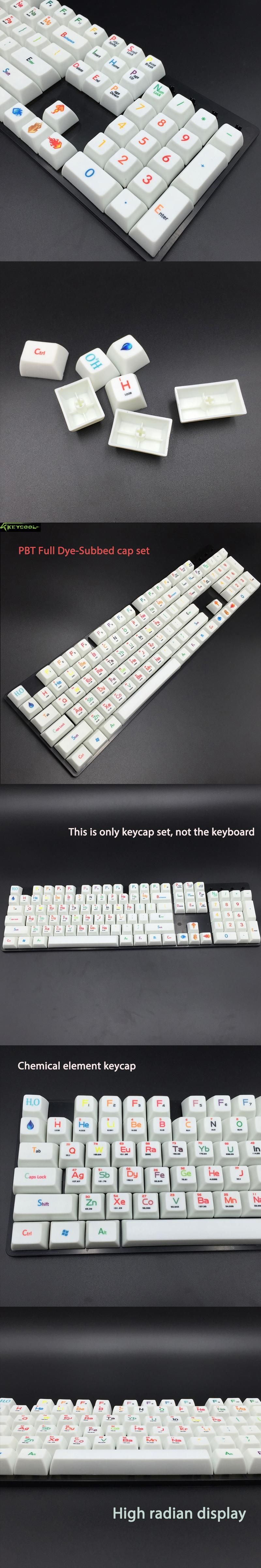 Periodic table sa full dyesubbed keycaps set pbt thick 16 pbt periodic table sa full dyesubbed keycaps set pbt thick 16 pbt keycap for diy cool urtaz Image collections