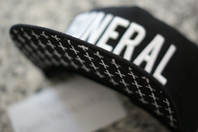 Black Scale Funeral Leather Snapback  b13d79972d2