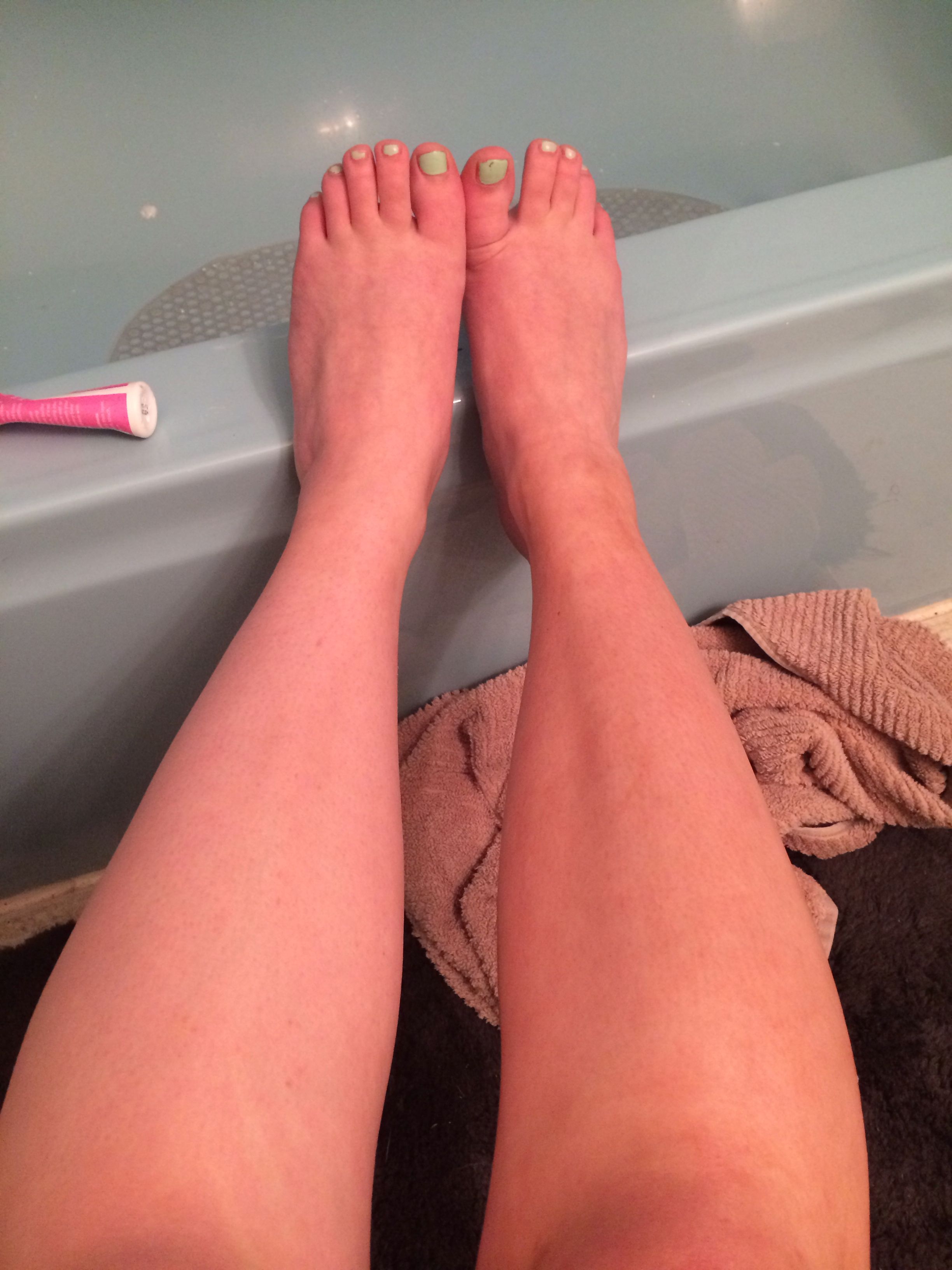 tanner trial leg and tanning pin error sunless bed