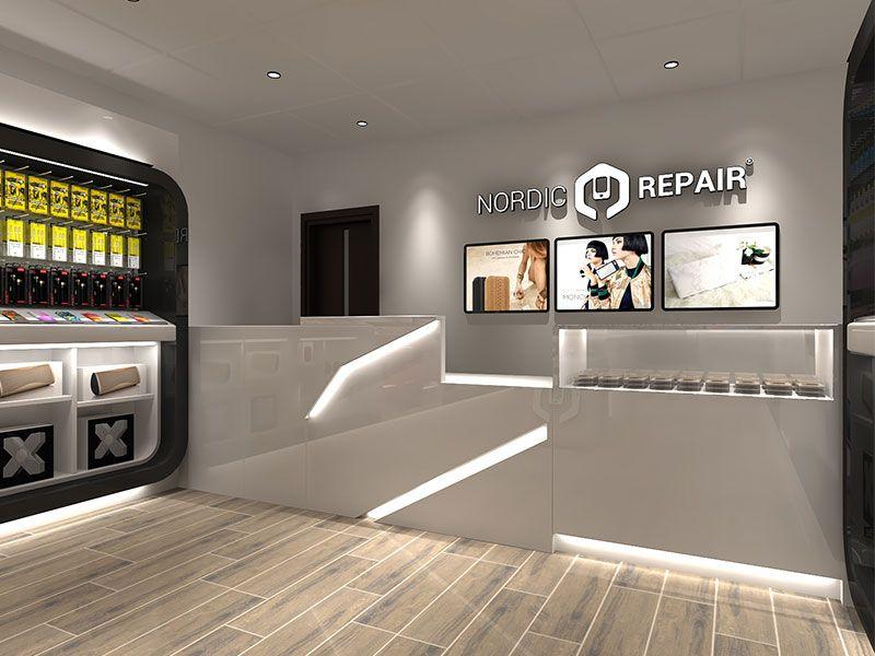 Electronic Stores Interior Design Also Store Retail Rh Pinterest