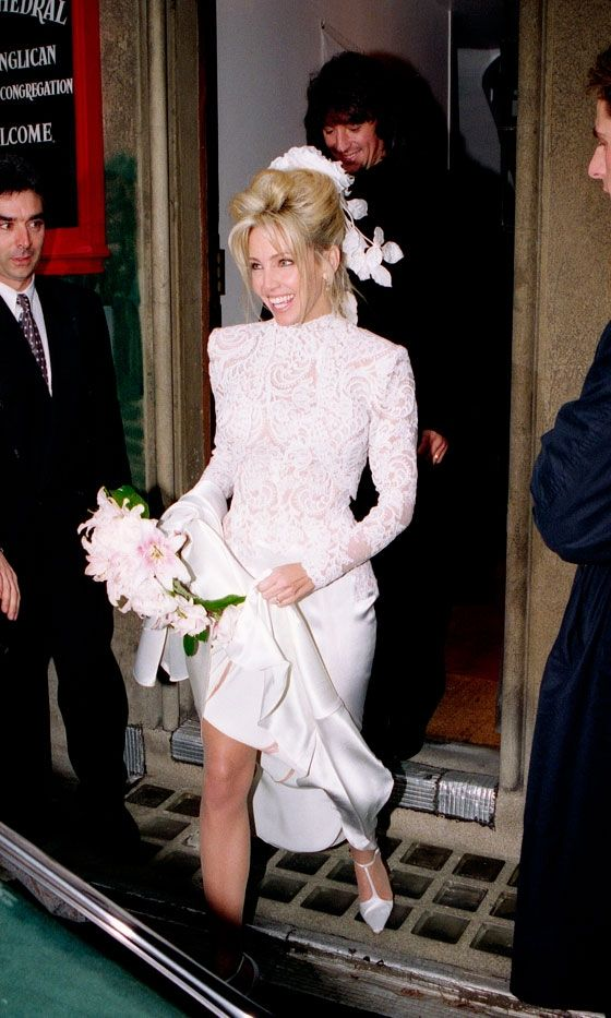 Heather Locklear and Richie Sambora wedding