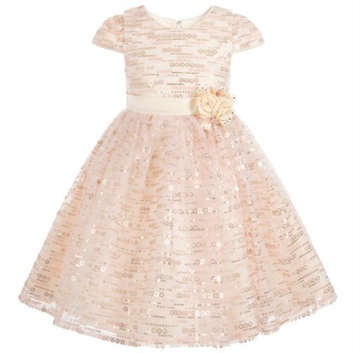 01c6bdd22f0f Romano Princess-Sparkly Pink Dress