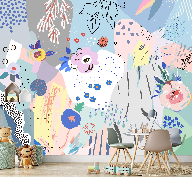 Creative Wall Mural Abstract Wallpaper Be Creative Wallpaper Abstract Painting Wallpaper Art Wallpaper Wall Murals Mural Painting Wallpaper