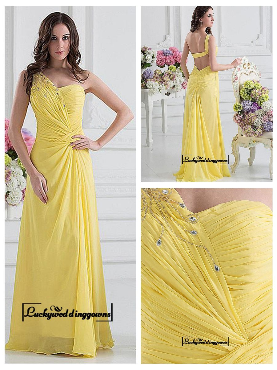 Aalluring Chiffon&Satin A-line One Shoulder Neckline Straight Floor-length Evening Dress http://www.ckdress.com/aalluring-chiffonsatin-aline-one-shoulder-neckline-straight-floorlength-evening-dress-p-1237.html  #wedding #dresses #party #Luckyweddinggown #Luckywedding #design #style #weddingdresses #bridaldresses #love #me #cute #beautiful #girl #shopping #lovely #clothes #instagood #follow #fashion