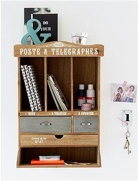 postregal tolles regal f r den flur hier wird sofort die post sotiert rechnungen und schl ssel. Black Bedroom Furniture Sets. Home Design Ideas