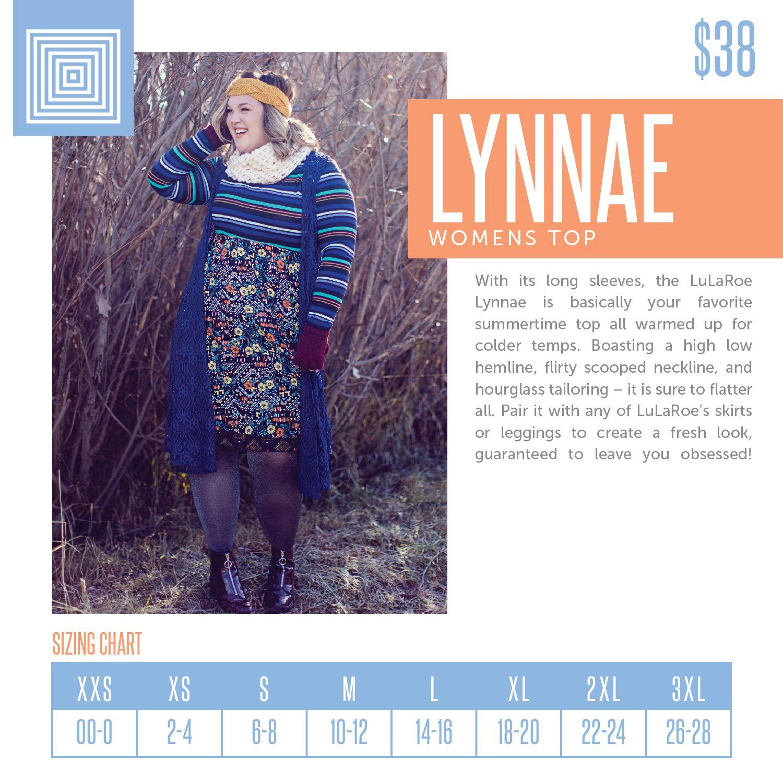 @lularoegillianspatz | Linktree. LuLaRoe Lynnae Sizing Chart 2018