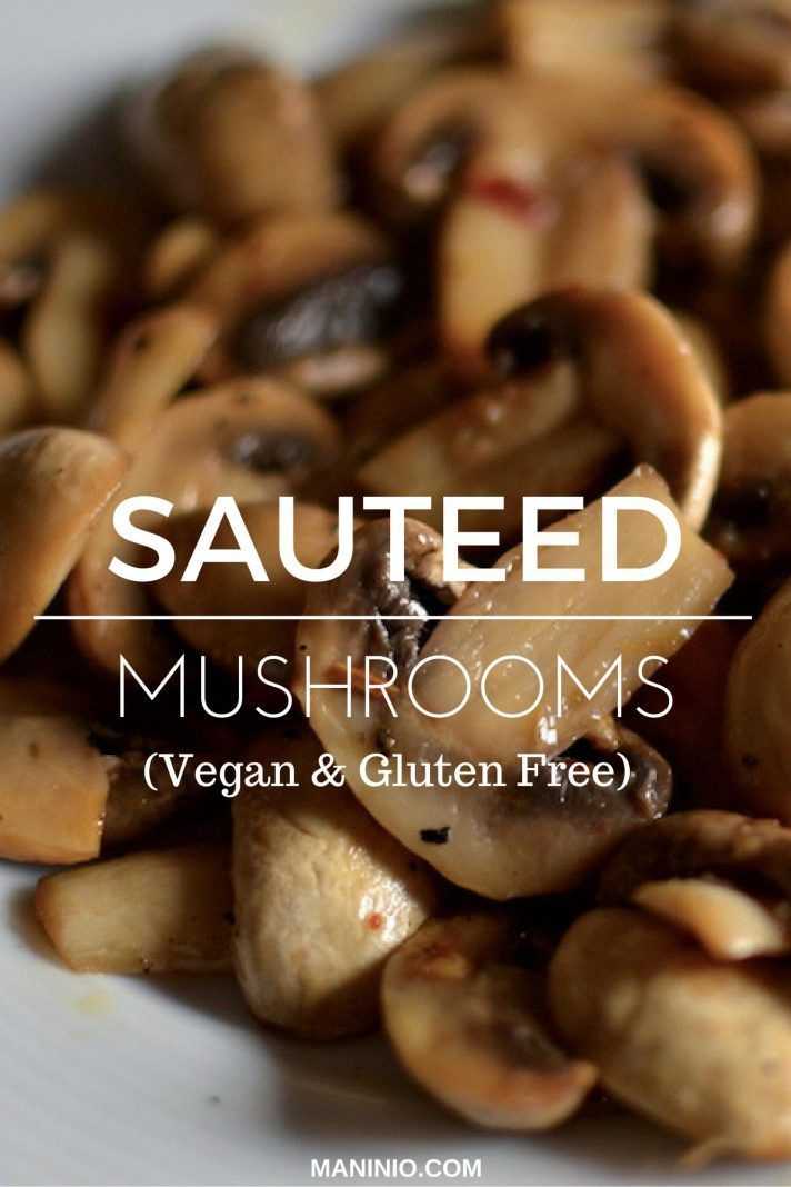 Sauteed Mushroom Recipe With Lemon And Mandarin