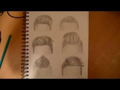 How To Draw Boys Hair With Pencil Step By Step Drawing The Easy Way Youtube How To Draw Hair Boy Hair Drawing Easy Hair Drawings