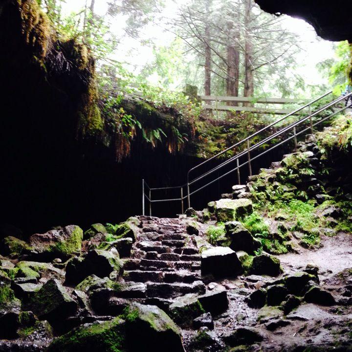 Ape Cave in Cougar WA Ape Cave