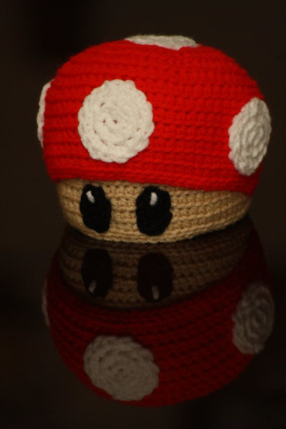 Super Mario Red Power Ups Mushroom hat  8d466b671f0