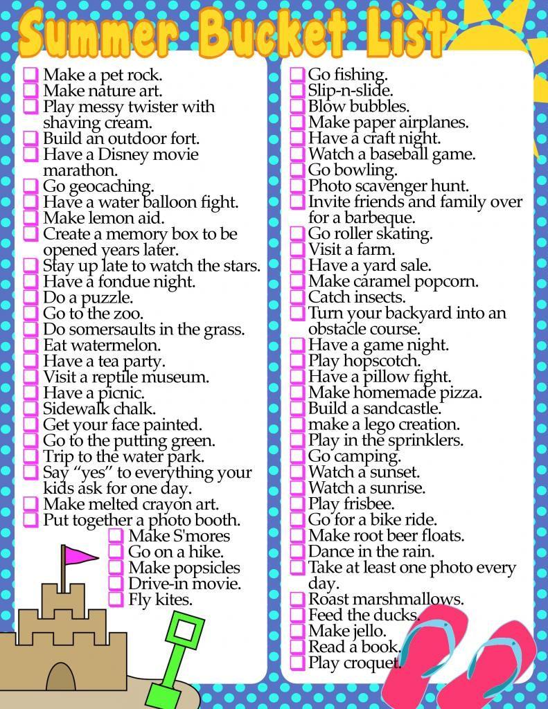 diy home sweet home summer bucket list printable diy ideas pinterest summer bucket lists
