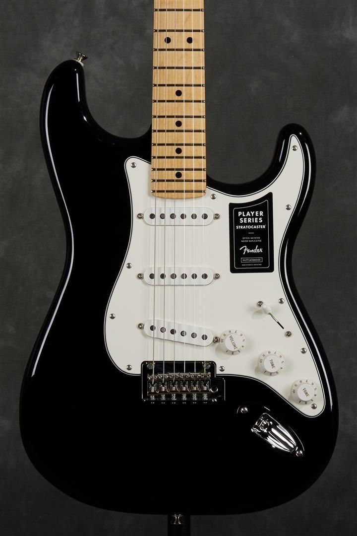 Fender Player Stratocaster - MN - Black #fenderstratocaster