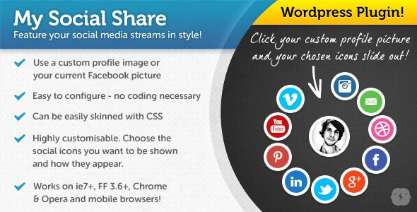 This Deals jQuery My Social Share for WordpressWe have the best promotion for you and if you are interested in the related item or need more information reviews from the x customer who are own of them before please follow the link to see fully reviews