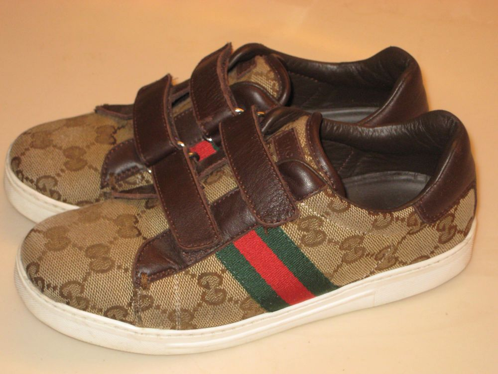 Gucci Classic Kids Trainers Size 32 (US