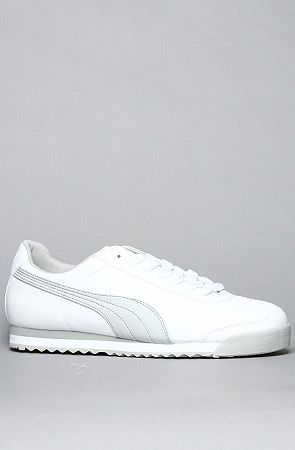 I'll take these please.The Roma Basic Sneaker in White