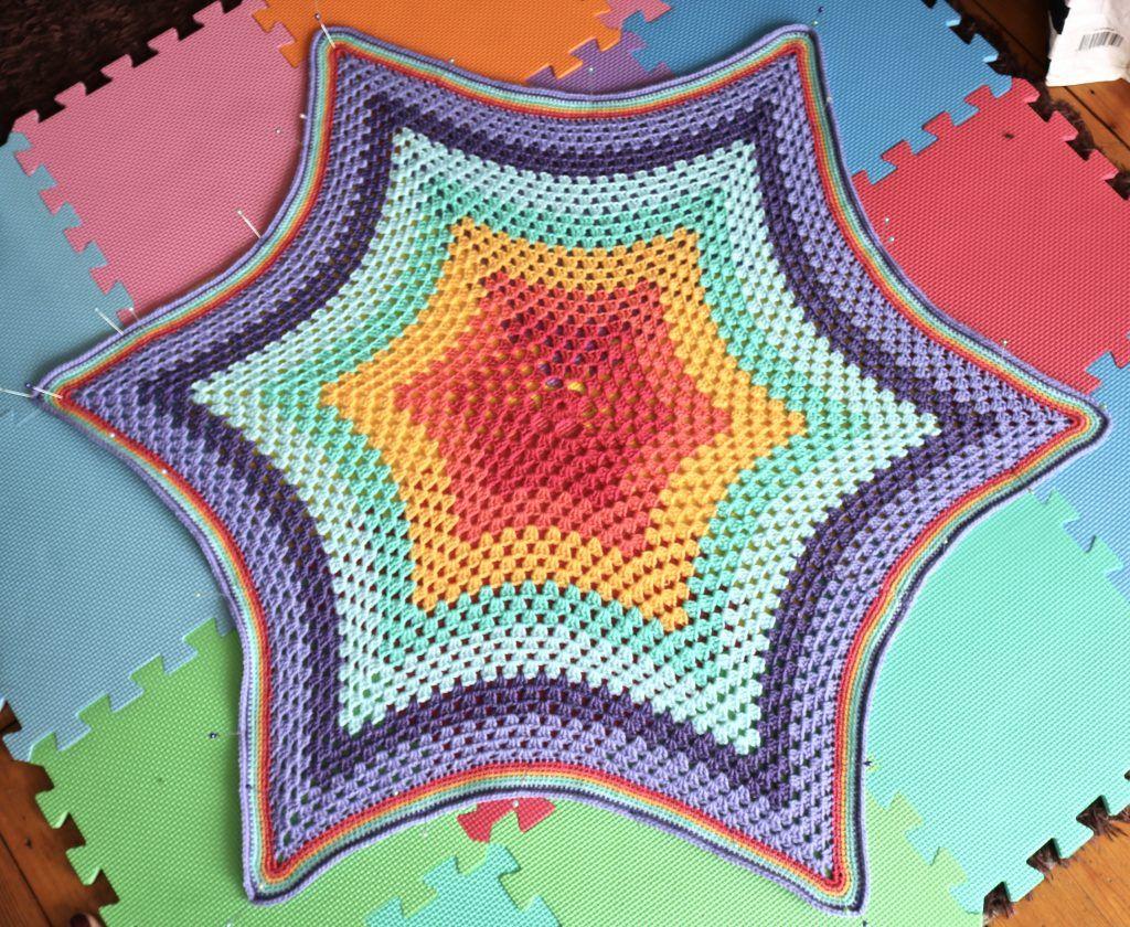 Free crochet star blanket pattern | Crochet Blankets | Pinterest ...