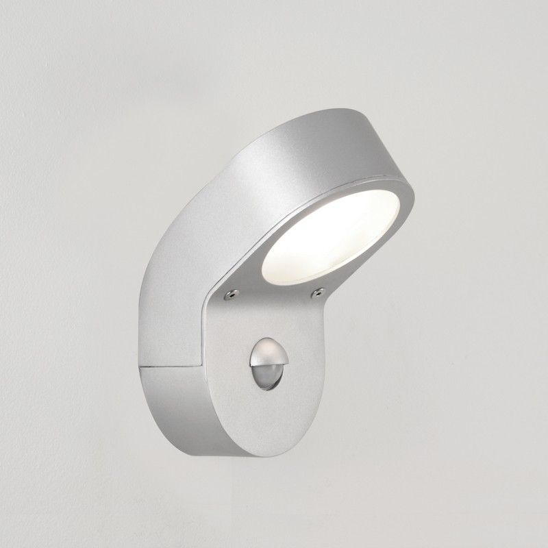 Astro soprano outdoor wall light with pir sensor silver outside astro soprano outdoor wall light with pir sensor silver workwithnaturefo