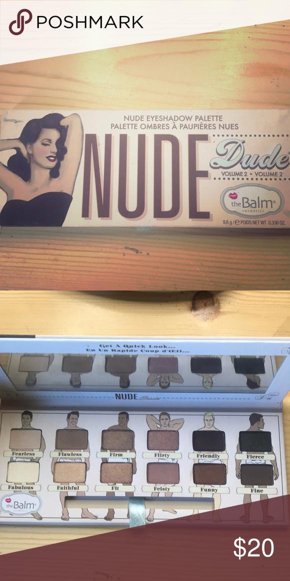 The Balm/nude Dude Vol 2 12 Nude Shades Eye Shadow
