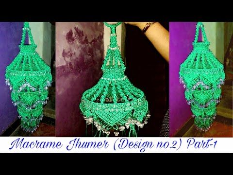 How To Make Macrame Jhumarchandelier New Design Complete