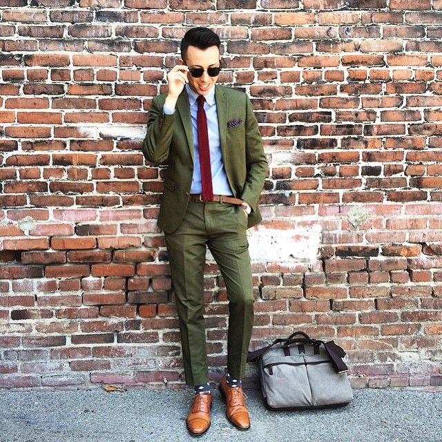 olive drab green suit blazer jacket pants men 39 s. Black Bedroom Furniture Sets. Home Design Ideas